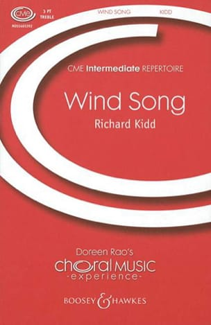 Richard Kidd - Wind Song - Partition - di-arezzo.fr