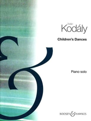 Children's Dances - Zoltan Kodaly - Partition - laflutedepan.com