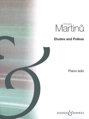 Etudes et Polkas Bohuslav Martinu Partition Piano - laflutedepan