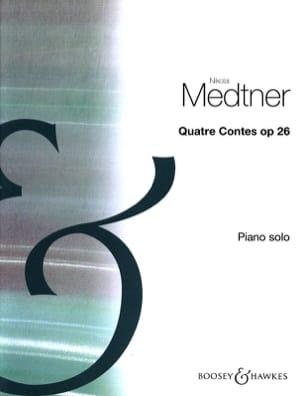 4 Contes Opus 26 - Nicolai Medtner - Partition - laflutedepan.com