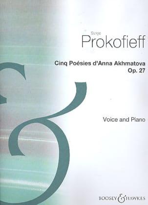 Poesies D'Anna Akhmotava Op. 27 - Sergei Prokofiev - laflutedepan.com