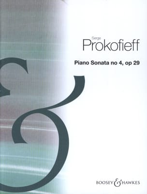 Sonate pour piano n° 4 Opus 29 PROKOFIEV Partition laflutedepan