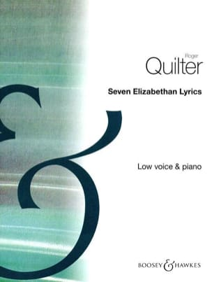 Roger Quilter - 7 Elizabethan Lyrics Opus 12. Serious Voice - Sheet Music - di-arezzo.com