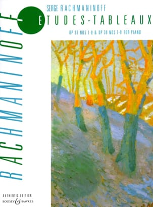 RACHMANINOV - Etudes-tableaux Opus 33, 39 - Sheet Music - di-arezzo.co.uk