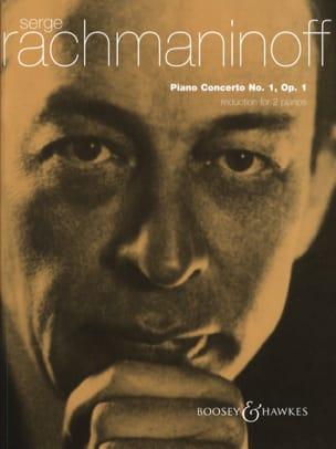 RACHMANINOV - Concerto Pour Piano N° 1 Opus 1 - Partition - di-arezzo.fr