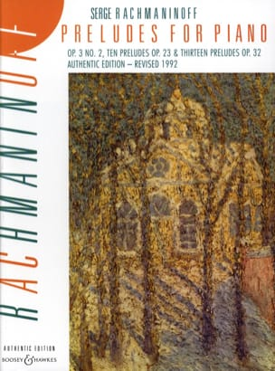 Sergei Rachmaninov - Préludes for Piano - Partition - di-arezzo.fr