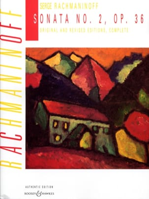 RACHMANINOV - Piano Sonata No. 2 Opus 36 - Sheet Music - di-arezzo.co.uk