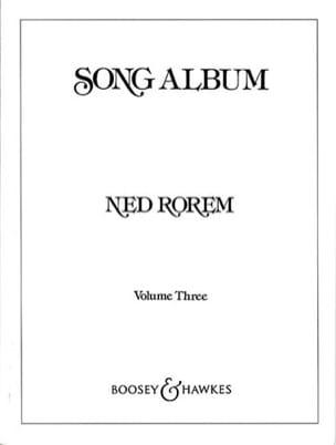 Song Album Bd 3 - Ned Rorem - Partition - laflutedepan.com