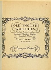 - Old English Worthies - Sheet Music - di-arezzo.co.uk