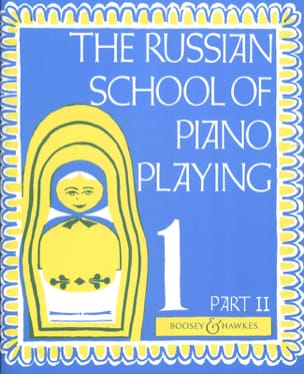 Nikolaev - Russian School Of Piano Playing Volume 1 Part 2 - Partition - di-arezzo.fr