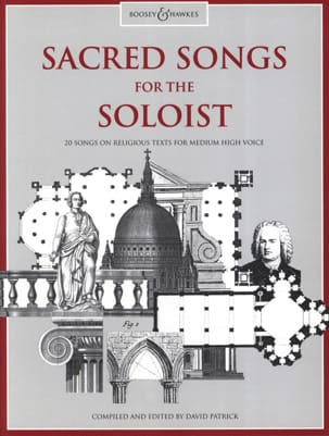 - Sacred Songs For The Soloist. Voix Haute - Partition - di-arezzo.fr