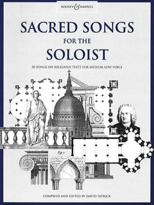 Sacred Songs For The Soloist. Voix Grave - Partition - di-arezzo.fr