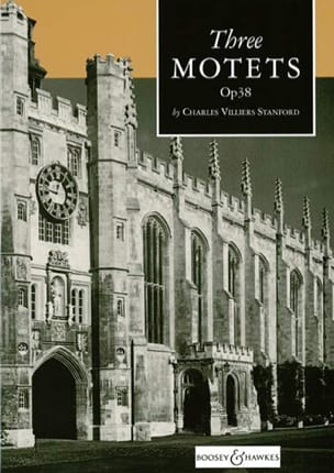 Charles Villiers Stanford - 3 Motets Op. 38 - Sheet Music - di-arezzo.co.uk