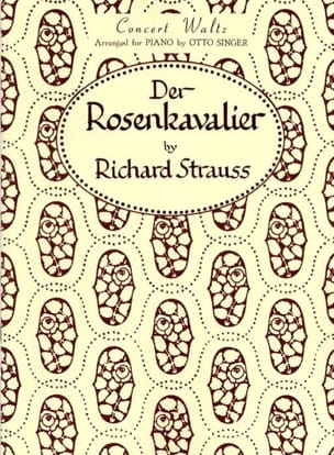 Rosenkavalier Walzer Opus 59 Richard Strauss Partition laflutedepan