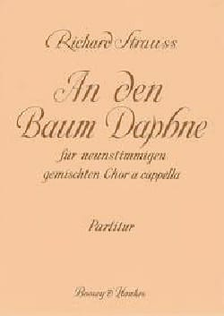 An Den Baum Daphne Richard Strauss Partition Chœur - laflutedepan