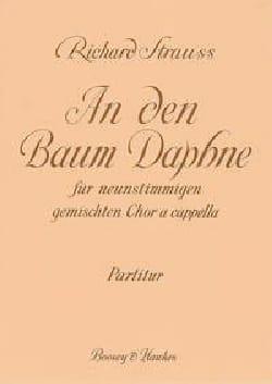 An Den Baum Daphne - Richard Strauss - Partition - laflutedepan.com