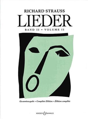 Lieder. Volume 2 Opus 43 A 68 Richard Strauss Partition laflutedepan