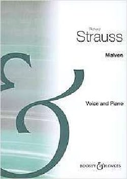 Richard Strauss - Malven Op. Posthumous - Sheet Music - di-arezzo.co.uk