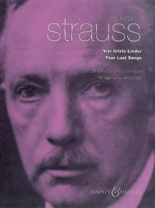 Richard Strauss - 4 Letzte Lieder - Partition - di-arezzo.fr