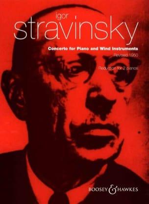 Igor Stravinski - Piano Concerto and Wind Instruments. 2 Pianos - Sheet Music - di-arezzo.com