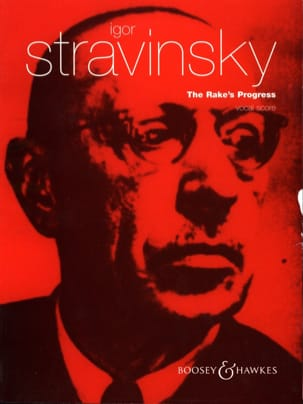 The Rake's Progress STRAVINSKY Partition Opéras - laflutedepan