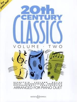 - 20th Century Classics. Volume 2. 4 hands - Sheet Music - di-arezzo.co.uk