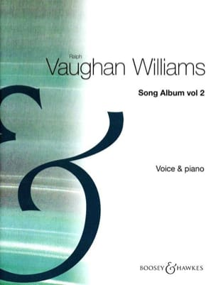 Song Album Volume 2 WILLIAMS VAUGHAN Partition Mélodies - laflutedepan