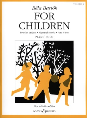 Bela Bartok - For Children Volume 1 - Partition - di-arezzo.fr