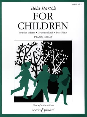 BARTOK - For children Volume 2 - Sheet Music - di-arezzo.com