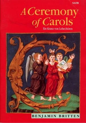Ceremony of Carols - SATB - BRITTEN - Partition - laflutedepan.com