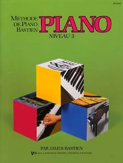 BASTIEN - Bastien Piano Method - Level 3 - Partition - di-arezzo.co.uk