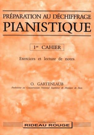 Odette Gartenlaub - Préparation Au Déchiffrage Pianistique Volume 1 - Partition - di-arezzo.fr