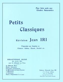 Petits classiques Jean Iri Partition Piano - laflutedepan