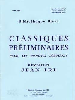 Jean Iri - Classiques préliminaires - Partition - di-arezzo.fr