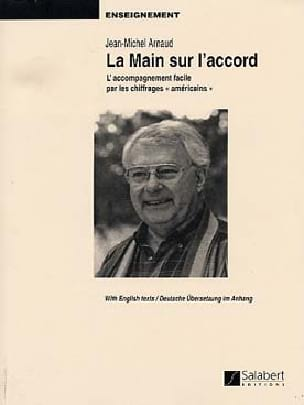 La Main sur L'accord Jean-Michel Arnaud Partition Piano - laflutedepan