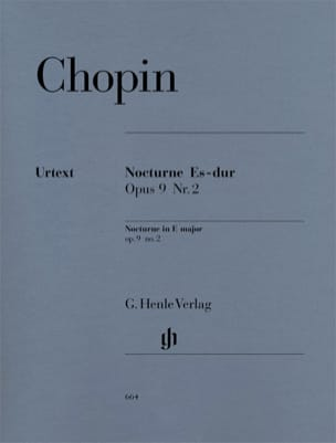 CHOPIN - Nocturne in E flat major Opus 9-2 - Sheet Music - di-arezzo.com