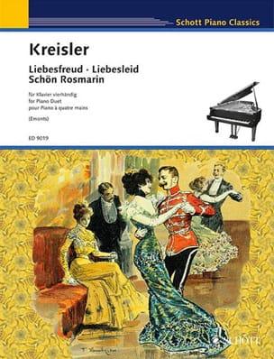 Fritz Kreisler - Liebesfreud, Liebesleid, Schön Rosmarin. 4 Hands - Sheet Music - di-arezzo.com