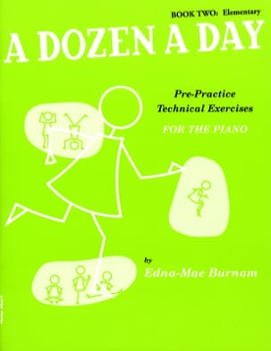 A Dozen A Day Volume 2 en Anglais - Partition - di-arezzo.fr