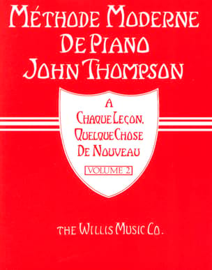 John Thompson - Méthode Moderne de Piano Volume 2 - Partition - di-arezzo.fr