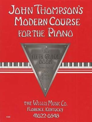 Modern Course for the Piano - Volume 5 John Thompson laflutedepan