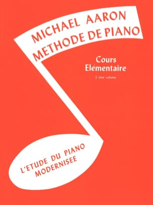 AARON - Méthode de Piano Volume 2 Cours Elémentaire - Sheet Music - di-arezzo.co.uk