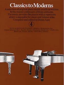 - Classics To Moderns Volume 4 - Partition - di-arezzo.fr