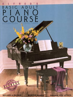 ALFRED - Alfred's Basic Adult Piano Course - Volume 3 - Partition - di-arezzo.fr