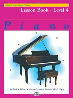 ALFRED - Lesson Book Level 4 - Piano - Sheet Music - di-arezzo.com