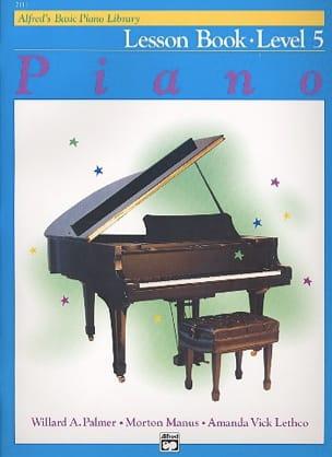 ALFRED - Lesson Book Level 5 - Piano - Sheet Music - di-arezzo.com