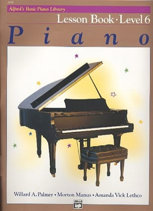 ALFRED - Lesson Book Level 6 - Piano - Sheet Music - di-arezzo.com