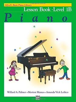 Lesson Book Level 1B - Piano ALFRED Partition Piano - laflutedepan