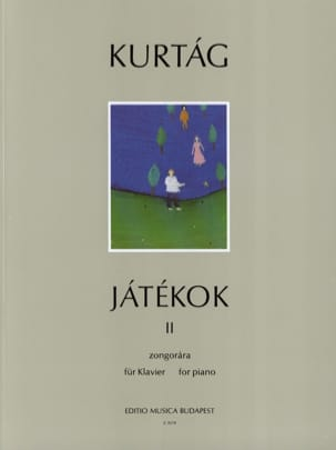 György Kurtag - Jatékok Volume 2 - Sheet Music - di-arezzo.co.uk