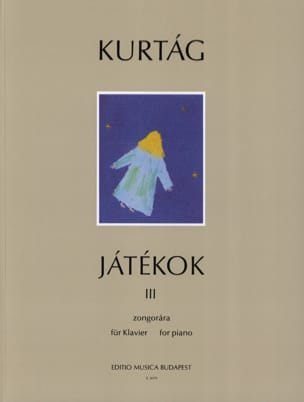 György Kurtag - Jatékok Volume 3 - Sheet Music - di-arezzo.co.uk