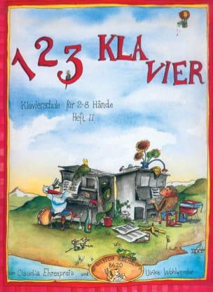 Ehrenpreis-Wohlwender - 1, 2, 3 Klavier Volumen 2 - Partitura - di-arezzo.es